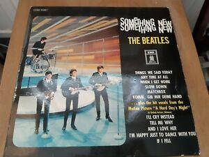 THE BEATLES - SOMETHING NEW EMI ODEON) VINYL LP MADE IN GERMANY C06204600