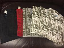 2006 Vintage NYC Recon Nort Futura Skull Money Print SS Shirt - Men's XL and XXL