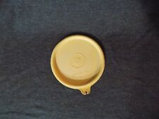 "Vintage Tupperware 4"" Lid/Seal ""A"" Off White Beige Replacement 215"