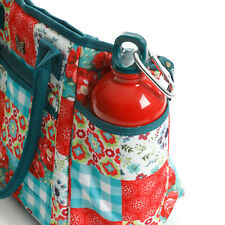 """Pioneer Woman Vintage Floral Insulated Lunch Tote With Hydration Bottle   """"New"""""""