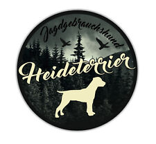A _ JGh Voiture Autocollant Heide terrier chasse TERRIER chiens autocollants CHIENS siviwonder