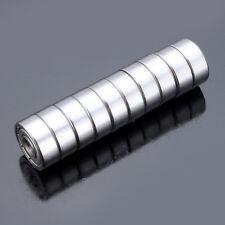 10pcs 4x13x5mm Steel Sealed Shielded Deep Groove Ball Bearings 624zz