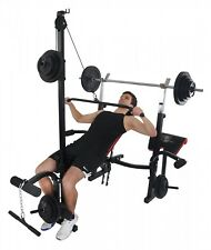 Christopeit Hantelbank Power XL bis 120 kg Trainingsbank klappbar Fitness 1582
