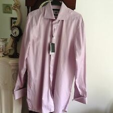 Austin Reed extreme cutaway City Pink Shirt.New Size 16.5