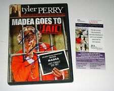 Tyler Perry Signed Madea Goes To Jail DVD JSA CERT w/inscription Be Blessed
