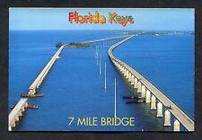 C1990's View of the 7 Mile Bridge, Florida Keys, USA.