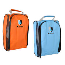 2Pcs Golf Shoe Bag - Zippered Shoe Carrier Bags With Ventilate Mesh Hole