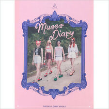Nine Muses A - Muses Diary  Photocard CD New K-Pop