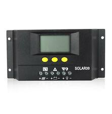 30A 30 Amp regulador de carga Solar LCD Camper RV t4 t5 Bongo Autocaravana Caravana