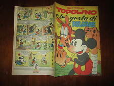 WALT DISNEY ALBO D'ORO N°101 TOPOLINO E LE GESTA DI FOLGORE 1*RISTAMPA 1951