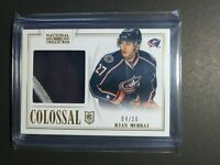 2013-14 Panini National Treasures Colossal Jersey Patch #24 Ryan Murray 4/10 RC