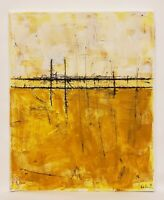 No.810 Original Abstract Minimal Modernist Painting on Canvas By K.A.Davis