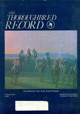 1984 Thoroughbred Record Magazine: Peter Howell's View of the Grand National