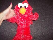 Elmo Backpack Back Pack Sesame Street Bag Plush Dolls Toys Kids School 16 x 5