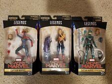 Hasbro Marvel Legends Captain Marvel Star Force & both from Kree Sentry wave NEW
