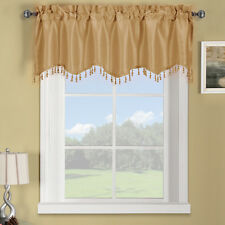 Luxury Soho Straight Valance Solid Pattern 70 x 17 inches