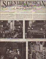 1908 Scientific American Supp Dec 5-Radium,Caterpillars