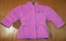 First Moments Pink Jacket, W/Cotton Lining, Size 6/9 Months