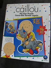 CAILLOU....Caillou...ABC KIDS...large style floor puzzle age 2+   46 pieces.....