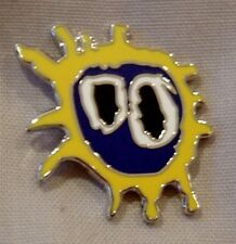 Primal Scream 'screamadelica' enamel badge. Stone, Mod, Indie, RosesTickets
