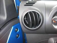 Jeep Wrangler JK New Black Dash Vent Nozzle Mopar Factory Oem