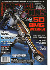 SPECIAL WEAPONS FOR MILITARY & POLICE,   APRIL, 2014 (  NEW ASHBURY AWS .50 BMG