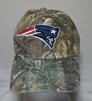 New England Patriots Cap Hat NFL '47 Tree Camouflage Adjustable OSFA Football
