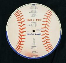 1961 Babe Dahlgren/Coca-Cola AL/NL Ball of Fame Two-Sided Rotating Stat Display!