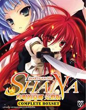 ANIME DVD SHAKUGAN NO SHANA Sea 1~3 Complete Box Set + OVA + Movie + FREE ANIME