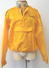 VINTAGE OUTDOOR LIFE YELLOW SPRAY DRY SHIRT TOP JACKET SAILING KAYAK EVUC SZ L