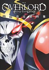 OVERLORD Complete ART Book Japanese from Japan new