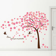Tree Decal Decoration Home Wall Stickers Mural Cherry Blossom 310cm x 180cm
