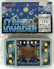 CASIO CG-600 - STAR INVADERS - STAR GAME - WATCH GAME - NEW