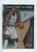 KEVIN DURANT 2010-11 Panini Threads Century Stars #D /99