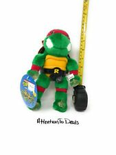 TMNT Raphael Plush Doll Playmates 1989 With Suction Cups Vintage