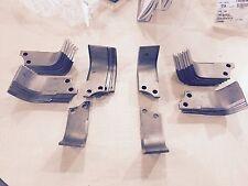 Complete set of tiller tines for Toro Dingo tiller pn 104-2043 and 104-2044