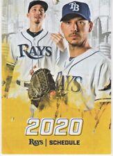 Tampa Bay Rays 2020 Regular Season Pocket Schedule - Morton, Snell & Kiermaier