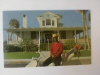 Gasparilla Inn & Cottages Clubhouse, Boca Grande, Florida, Tiger Posing