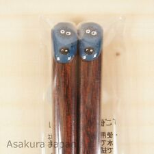 Studio Ghibli Chopsticks Pukkuri My Neighbor Totoro Kurosuke Blue Adult Size