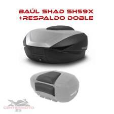 Baúl maleta SHAD SH59X Expandible | 46L | 52L | 58L | RESPALDO | D0B59100