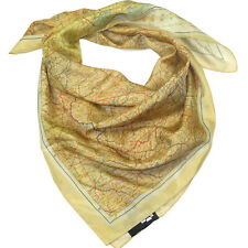 More details for silk escape map scarf - official iwm wwii air force cloth maps for sale evasion