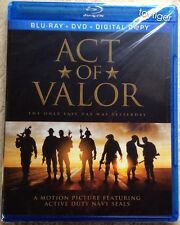 Act of Valor ( Blu-ray Disc only w/ Case) * NO DVD, NO DIGITAL COPY*