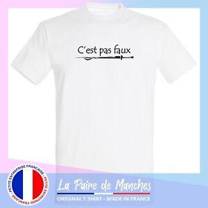 T shirt kaamelott - citation c'est pas faux, tee shirt homme blanc noir -ffsk5