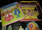 Cinderella Story Felt Interactive Playset book with case 25 figure SoftPlay 2003