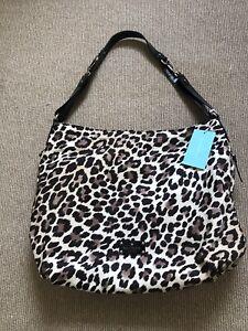BNWT Beautiful Leopard Print Kate Spade Changing Bag Inc Changing Mat RRP £480