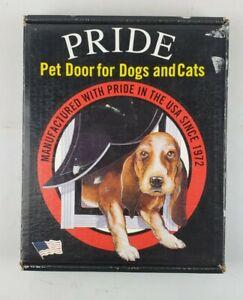Pride Pet Doors Deluxe Pet Door Small (4.75 W X 7.5 H Opening) SD300 Aluminum