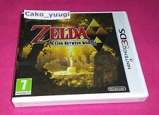 THE LEGEND OF ZELDA A LINK BETWEEN WORLDS NINTENDO 3DS NEUF 100% FRANCAIS