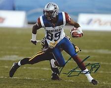 Duron Carter Signed 8x10 Photo Montreal Alouettes Autographed COA B