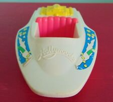 Tonka Hollywoods Plastic Pink and White Toy Boat