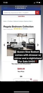 Queen sized Bedset